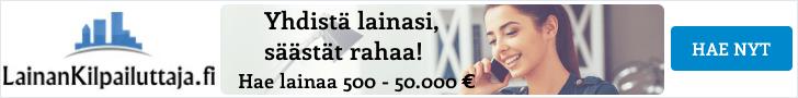 Hae lainaa 500 - 50.000 euroa!